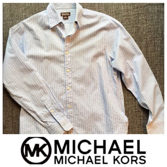 Michael Kors Other - Michael Kors Slim-Fit Button-Down Shirt